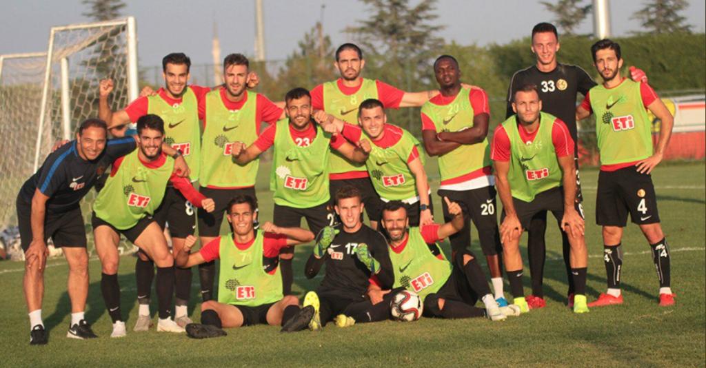 Eskişehirspor takımı yeni sezona hazırlanıyor