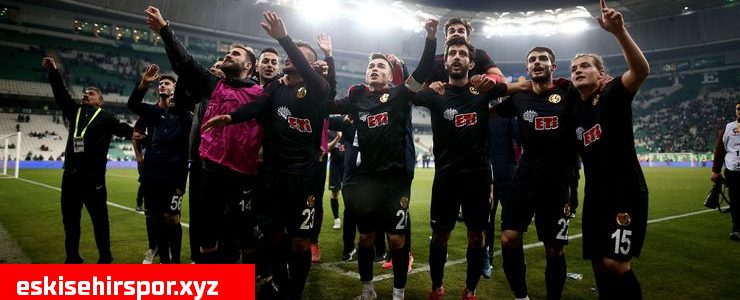 Eskişehirspor Menemenspor Deplasmanında
