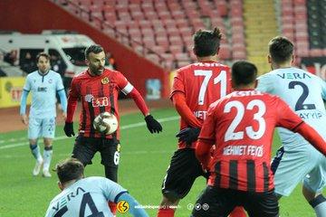 Eskişehirspor'da umutlar tükeniyor