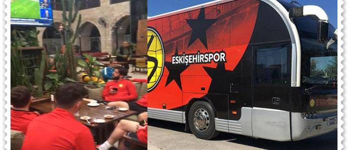 Eskişehirspor Futbol Takımı Çile Yaşıyor