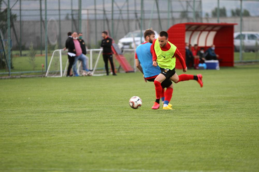 Eskişehirspor Gaziantep FK Maçı Tamamlandı