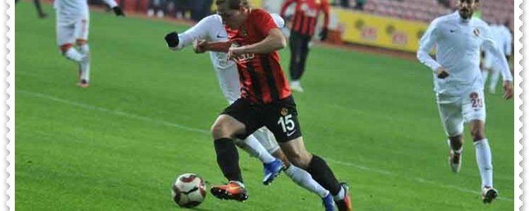 Eskişehirspor Futbolcusu Süper Lig Yolunda